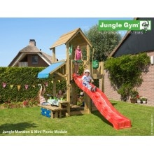 Jungle Gym Mansion Mini picnic so šmýkačkou