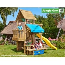 Jungle Gym Cubby Mini Picnic so šmýkačkou