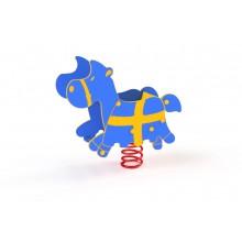 Pružinová hojdačka Koník 3D