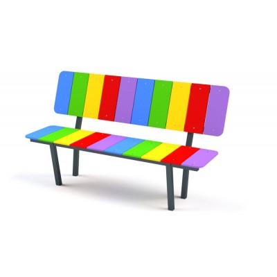 Bezúdržbová lavička Dúha 5021S
