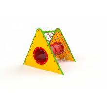 Sieťový trojuholník s tunelom