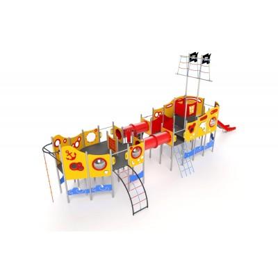 Kovová hracia zostava Loď Galeona