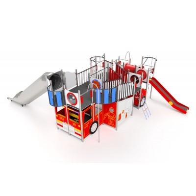 Preliezačka Veľké hasičské auto