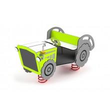 Traktor na pružinách