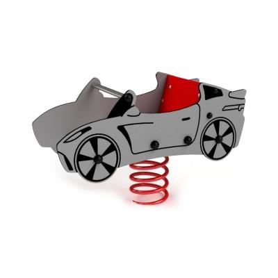 Pružinová hojdačka Kabriolet 3D