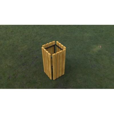 Odpadkový kôš k ihrisku