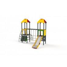 Dlhá lavička bez operadla k ihrisku