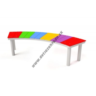 Bezúdržbová lavička Dúha 5018S