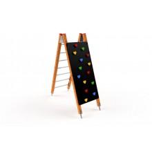 Preliezací rebrík s lezeckou stenou lamino
