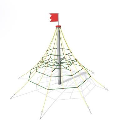 Lanová pyramída 2,2 x 1 m
