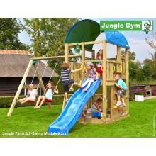 Jungle Gym Farm 2-Swing so šmýkačkou