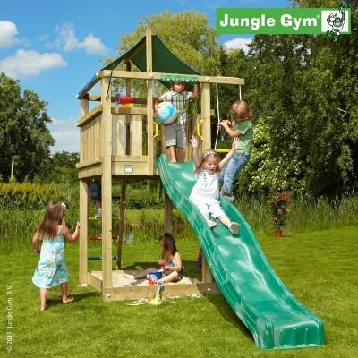 Jungle Gym Lodge so šmýkačkou