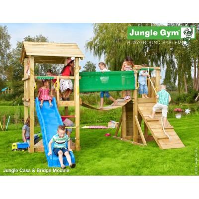 Jungle Gym Casa Bridge so šmýkačkou