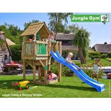 Jungle Gym Cubby Balcony so šmýkačkou