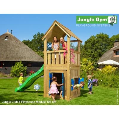 Jungle Gym Club Playhouse so šmýkačkou