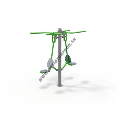 Outdoor fitness zariadenie Double Pull down OF2-14