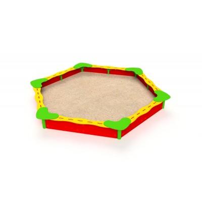 Kovové pieskovisko Hexagonal 3 x 3,45 m 3207S