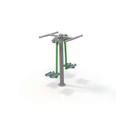 Outdoor fitness zariadenie Double Ski trainerOF2-12