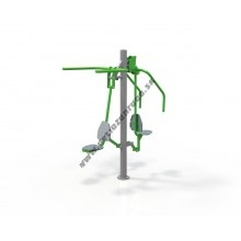 Outdoor fitness zariadenie Pull down Chest press OF2-14-15