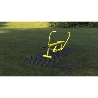 Outdoor fitness zariadenie Veslár   Premium