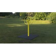 Outdoor fitness zariadenie Kormidlo