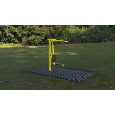 Outdoor fitness zariadenie Vzpieranie