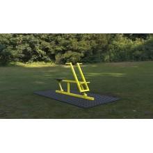 Outdoor fitness zariadenie Veslár