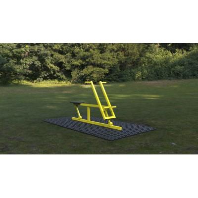 Outdoor fitness zariadenie Veslár  Basic