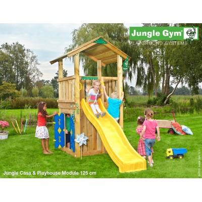 Jungle Gym Casa Playhouse so šmýkačkou