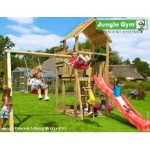 Jungle Gym Palace 2-Swing so šmýkačkou