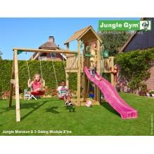 Jungle Gym Mansion 2-Swing so šmýkačkou