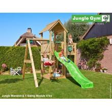 Jungle Gym Mansion 1-Swing so šmýkačkou