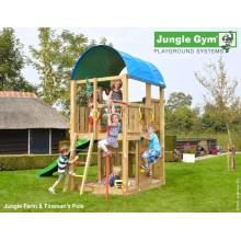 Jungle Gym Farm Firemans pole