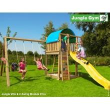 Jungle Gym Villa 2-Swing so šmýkačkou